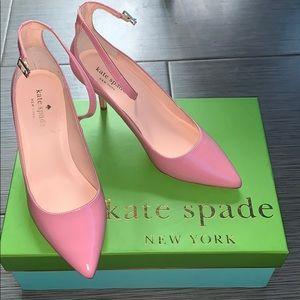 Kate Spade Janette Pink Heels
